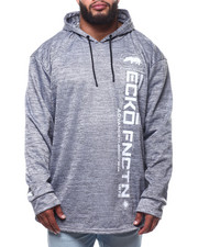 Ecko - Brushed Poly Tricot Fly Ny Ls Knit Hood (B&T)-2302109