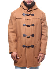Outerwear - Long Toggel Wool Hooded Coat (B&T)-2302257