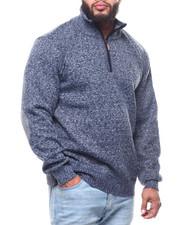 Buyers Picks - 1/4 Zip Fancy Fleece Lined Sweater (B&T)-2302171