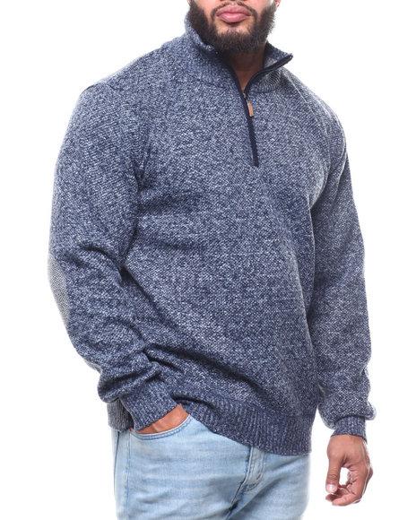 Buyers Picks - 1/4 Zip Fancy Fleece Lined Sweater (B&T)