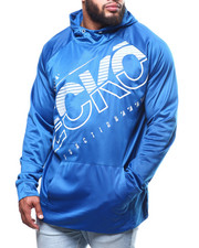 Ecko - Brush Poly Tricot Cut Through Po Hoodie (B&T)-2302134