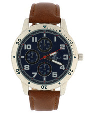 Stocking Stuffers Men - Carribean Joe Blue Dial Watch-2296154