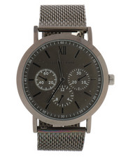 Stocking Stuffers Men - Geoffrey Beene Gunmetal Watch-2296088