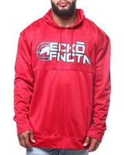 Ecko - Brushed Poly Tricot Half Quilted Pop Hood  (B&T)-2302144