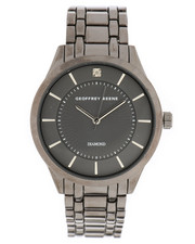 Stocking Stuffers Men - Geoffrey Beene Gunmetal Watch-2296196