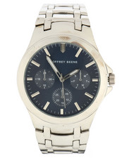 Stocking Stuffers Men - Geoffrey Beene Silver Tone Watch-2296255