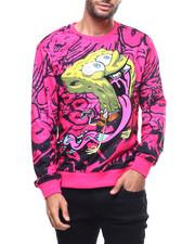 Sweatshirts & Sweaters - Wavy Crewneck Sweatshirt-2302391