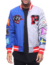 Kleep - Split Nylon Varsity Jacket-2302521