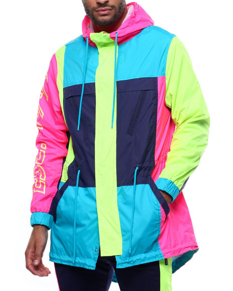 SMOKE RISE - Nylon Fishtail Jacket