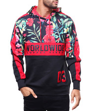 Copper Rivet - Floral Worldwide Hoody-2302635