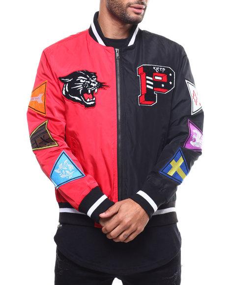 Kleep - Split Nylon Varsity Jacket