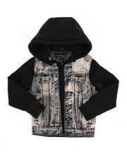 Denim Jackets - Hooded Denim Jacket (4-7)-2297495