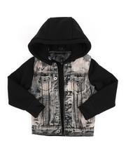Outerwear - Hooded Denim Jacket (4-7)-2297495