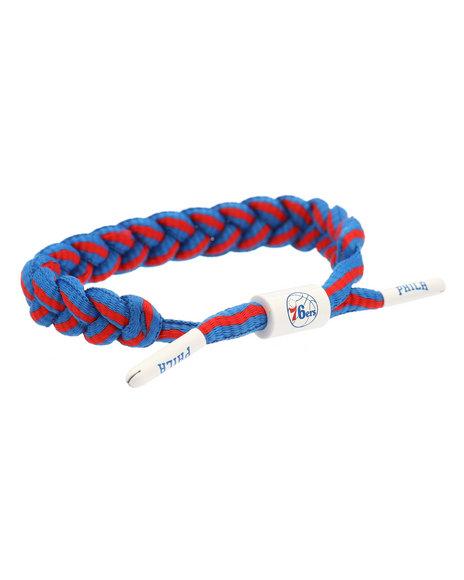 5b67a2bc067c Buy Rastaclat Philadelphia 76ers Classic NBA Bracelet Men s ...