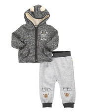 Duck Duck Goose - Bear 2Pc Fleece Set (Infant)-2298777