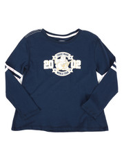 True Religion - Long Sleeve Varsity Tee (7-16)-2298648