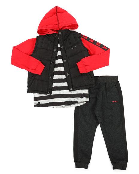 DKNY Jeans - York Avenue 3Pc Vest Set (4-7)