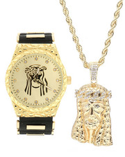 Accessories - 3 Piece Jesus Watch Set-2299096