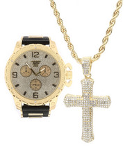 Accessories - 3 Piece Cross Watch Set-2299097