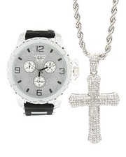 Accessories - 3 Piece Cross Watch Set-2298194