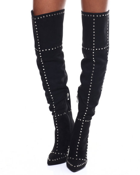 Fashion Lab - Alza Over The Knee Boot