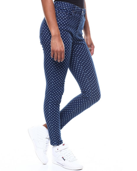 Almost Famous - Polka Dot Skinny Pant