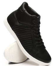Buyers Picks - High Stripped Metallic Sneakers-2303021