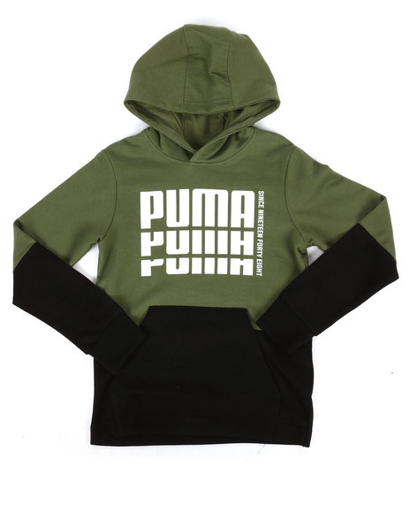 Puma - French Terry Pullover Hoodie (8-20)