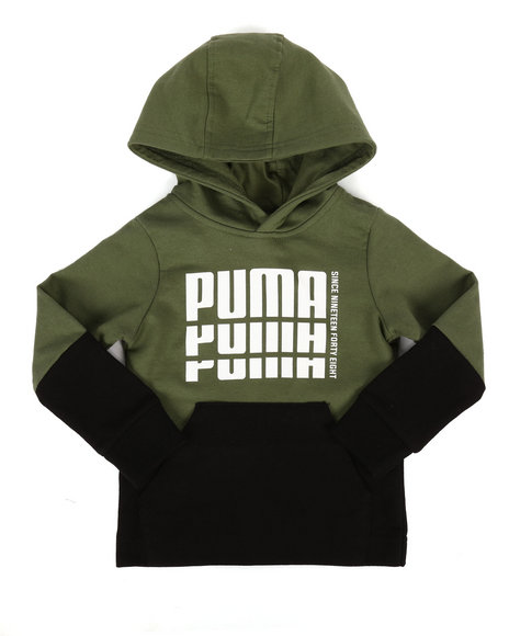 Puma - French Terry Pullover Hoodie (2T-4T)