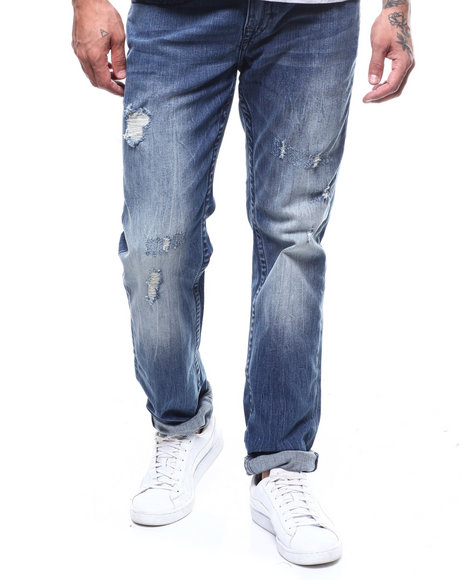 True Religion - SLIM NO FLAP Patch Jean