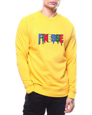 Men - Finesse Chenille Crewneck sweatshirt-2304006