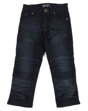 Bottoms - Colored Stretch Moto Denim Jeans (2T-4T)-2302710
