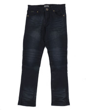 Bottoms - Colored Stretch Moto Denim Jeans (8-20)-2302784