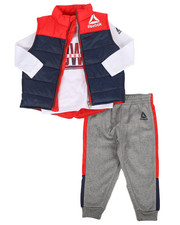 Boys - Puffer Vest 3Pc Set (2T-4T)-2302313