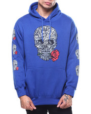 Hoodies - SKULL AND ROSES HOODY-2303981