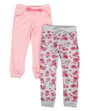 Girls - Twin Pack Jogger Set (4-6X)-2302180