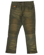 Boys - Colored Stretch Moto Denim Jeans (4-7)-2302719