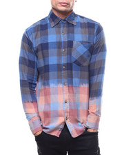 Shirts - Bleached Out Buffalo Plaid Flannel-2303610
