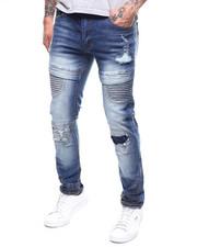Jeans & Pants - RIBBED MOTO CUT SEW JEAN-2303480