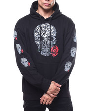 Hoodies - SKULL AND ROSES HOODY-2303986