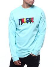 Mens-Winter - Finesse Chenille Crewneck sweatshirt-2304032