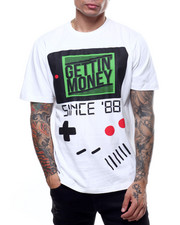 Shirts - GETTIN MONEY TEE-2303470