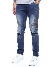 Jeans & Pants - MOTO STRETCH ARTICULATE LEG CUT SEW JEAN-2303458