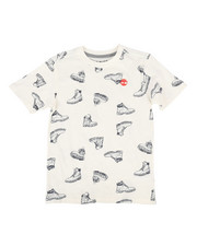 Boys - Legacy All Over Boots Print Tee (8-20)-2300295