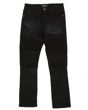 Bottoms - Colored Stretch Moto Denim Jeans (2T-4T)-2302775