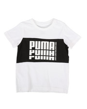 Boys - Color Block Pieced Tee (4-7)-2301980