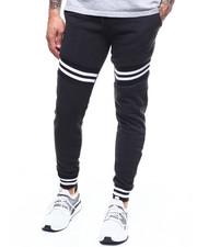 Sweatpants - Stripe Rib Jogger Pant-2303666