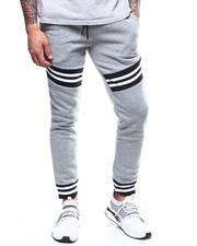 Sweatpants - Stripe Rib Jogger Pant-2303535