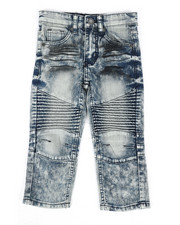 Bottoms - Stretch Moto Jeans (2T-4T)-2303164