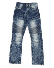 Jeans - Stretch Moto Jeans (8-20)-2303193